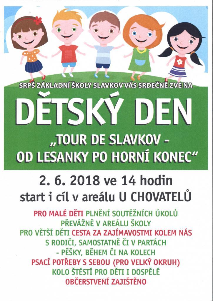 dětský den - plakát
