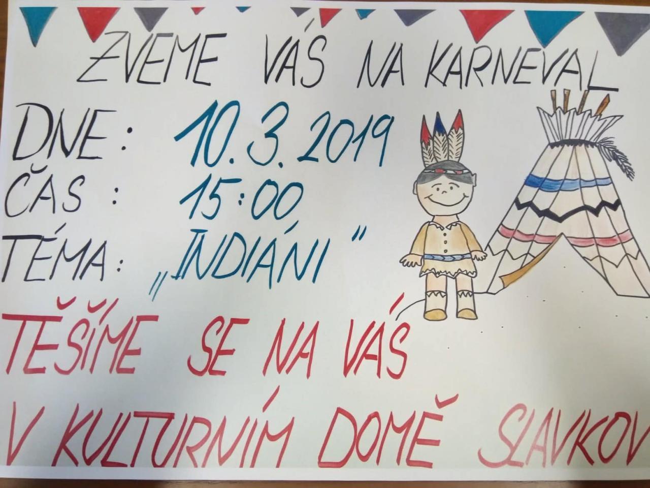 plakát karneval