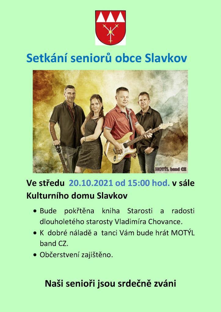 Setkání seniorů obce Slavkov